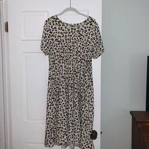 LULAROE - Animal Print Jessie Swing Dress